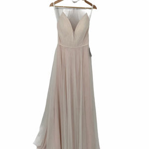 Ti Adora by Allison Web Tulle Gown Ivory Tea Rose